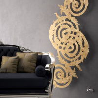 Bernini radiator gold