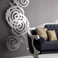 Bernini radiator silver
