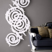 Bernini radiator white