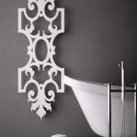 Romanov radiator white